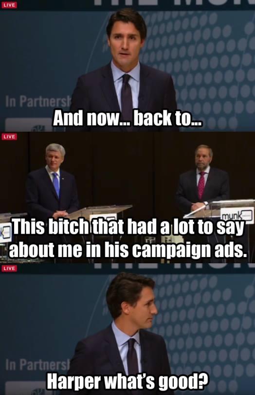 Whatchu Say Harper?