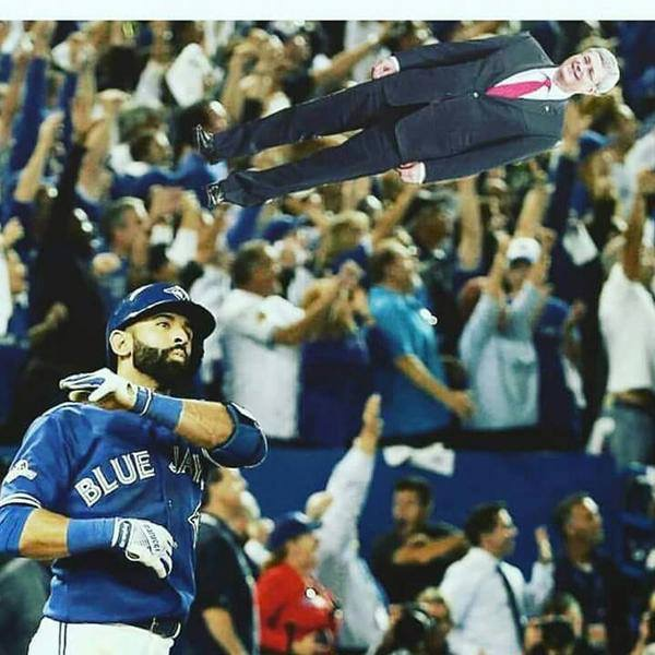 Bautista Harper Out