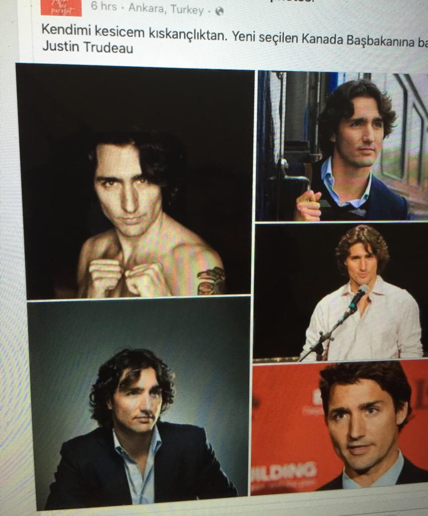 Sexy Trudeau Number 2
